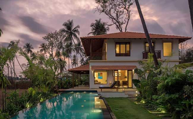 Luxury exteriors in Goa